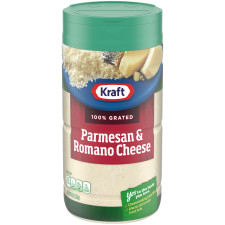 Kraft 100% Grated Parmesan & Romano Cheese Shaker 8 oz Bottle
