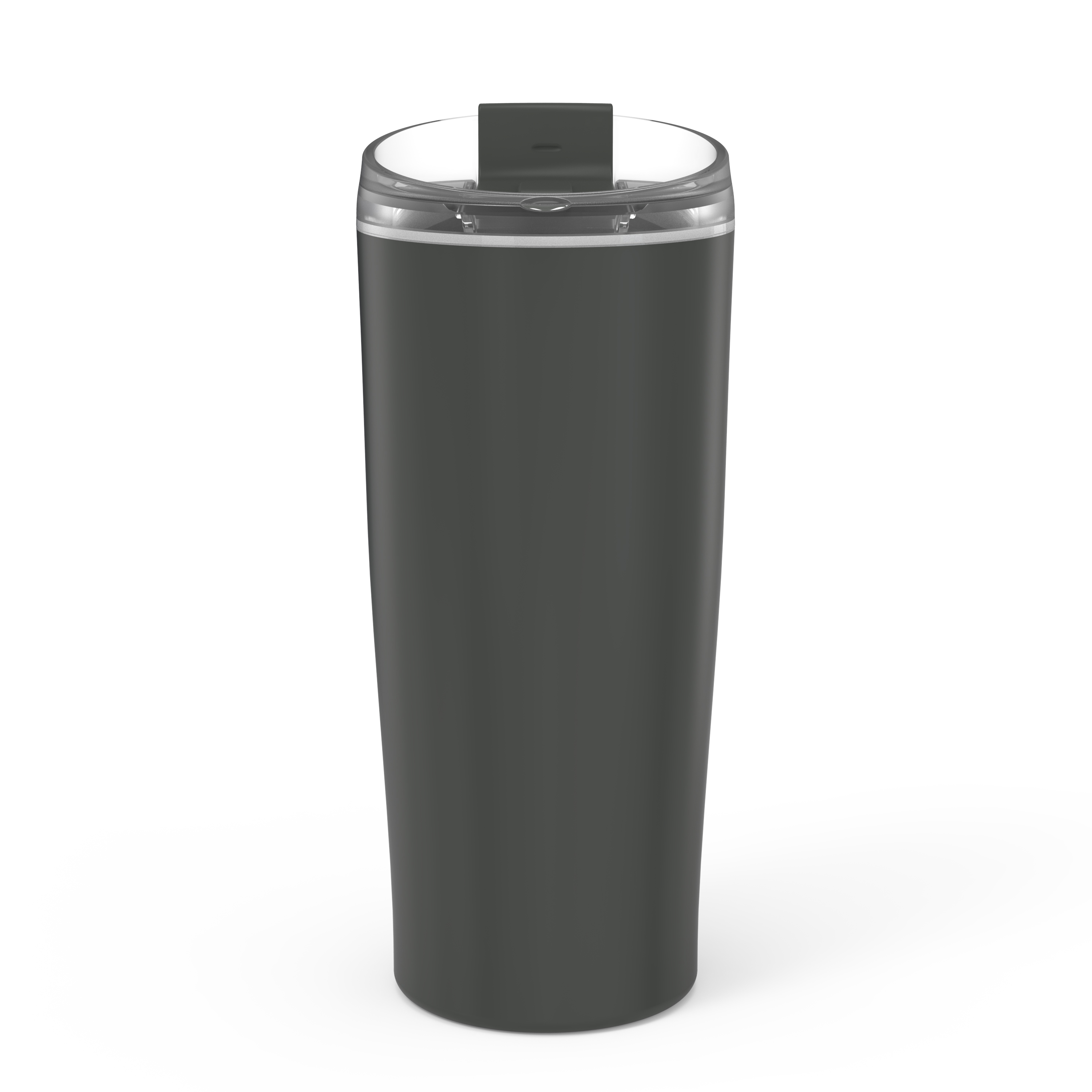 Aberdeen 20 ounce Vacuum Insulated Stainless Steel Tumbler, Charcoal slideshow image 6