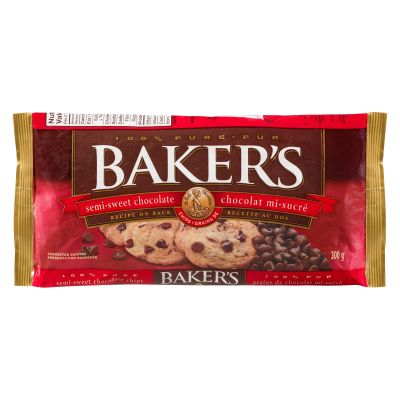Baker's 100% Pure Semi-Sweet Chocolate Chips