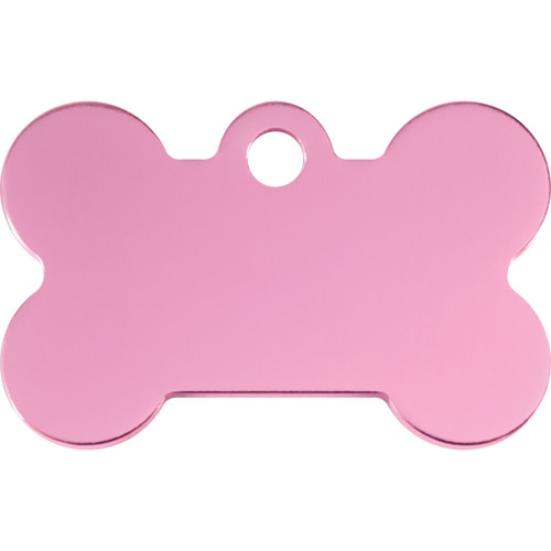 Pink Small Bone Quick-Tag 5 Pack