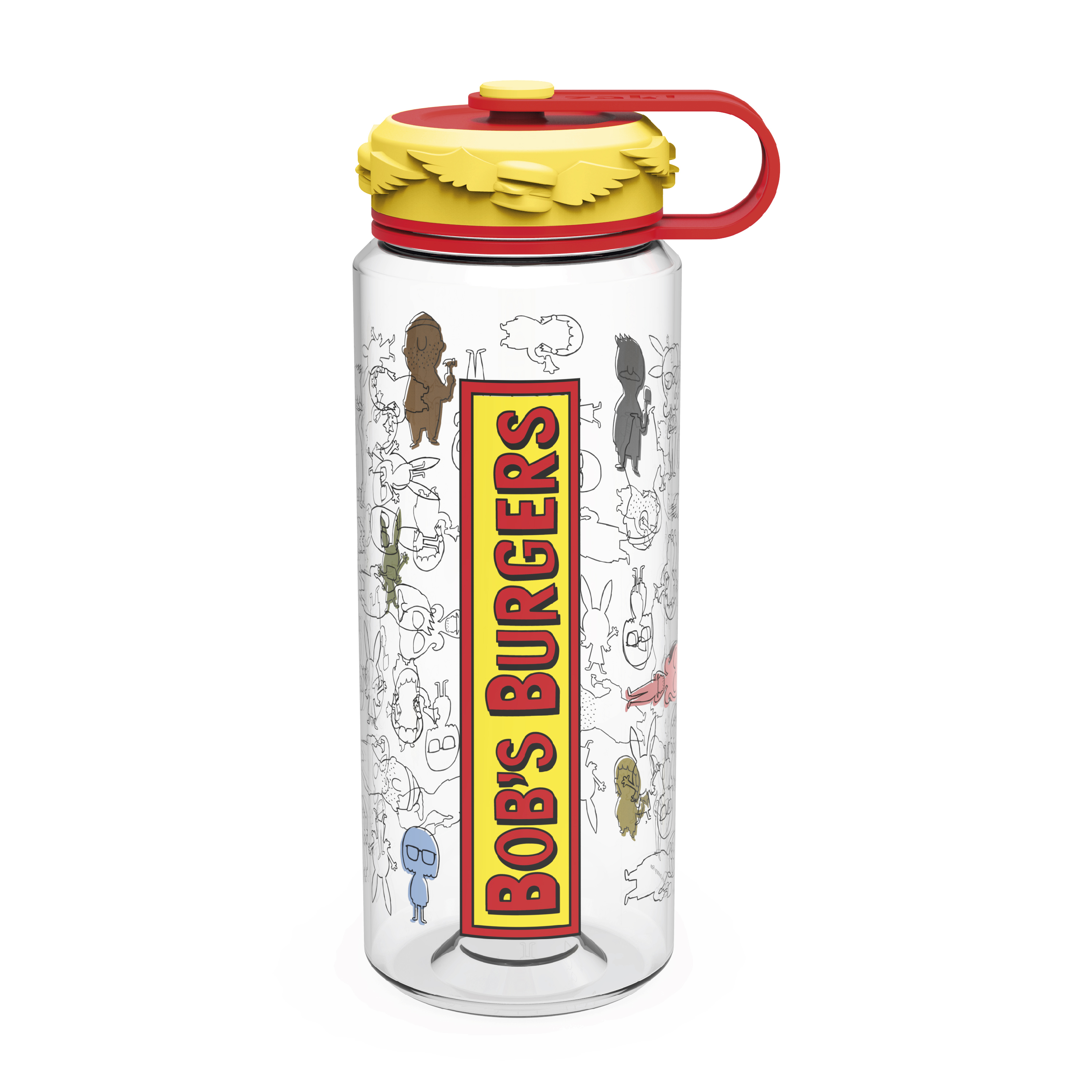 Bobs Burgers 36 ounce Water Bottles, The Belcher Family slideshow image 1