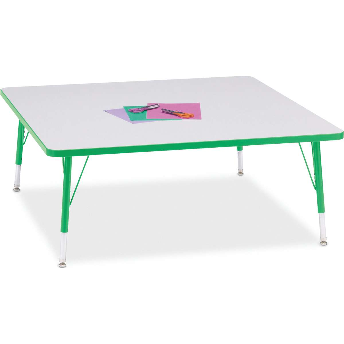 Berries 174 Adjustable Activity Table Square 48 Quot X 48