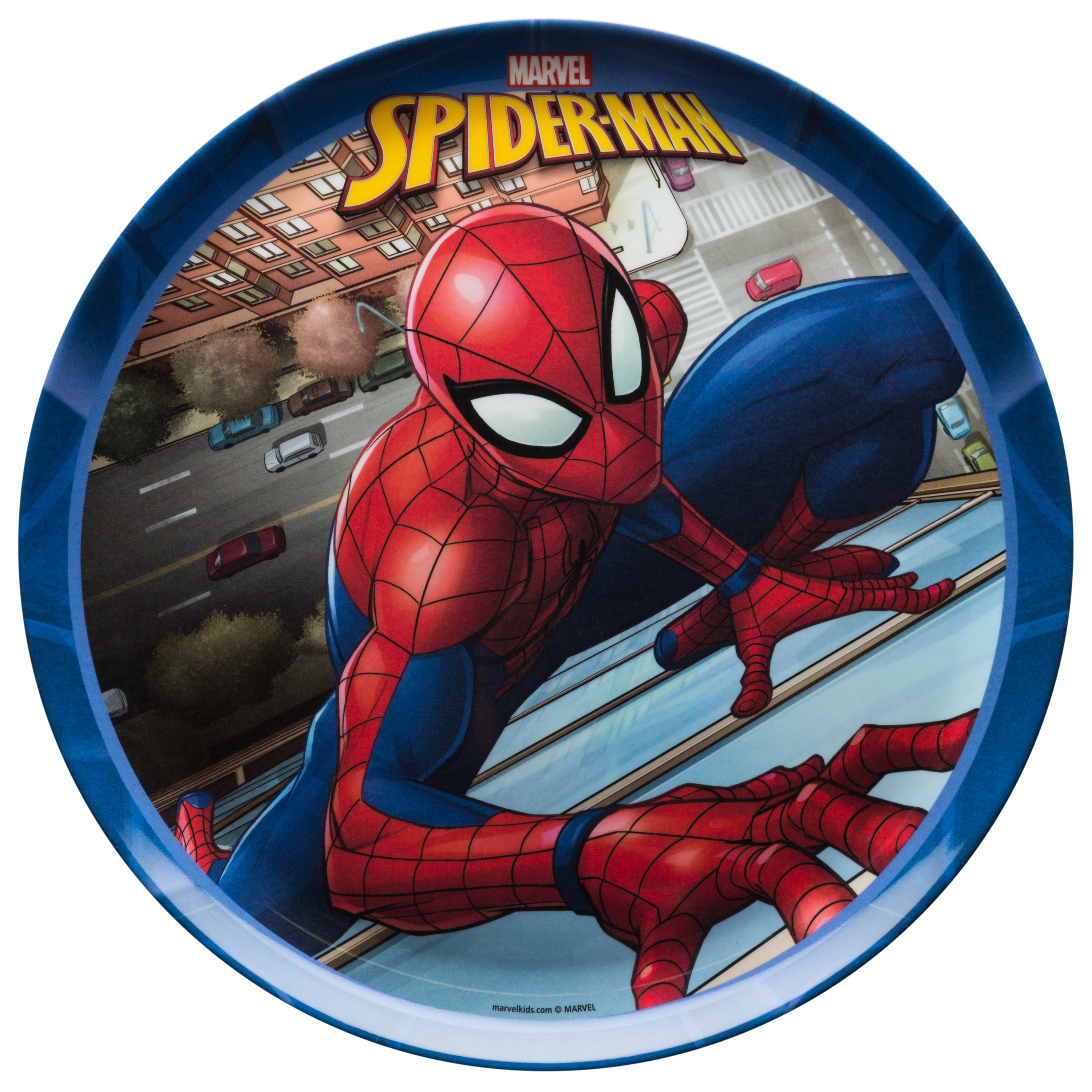 Marvel Comics Dinnerware Set, Spider-Man, 2-piece set slideshow image 3