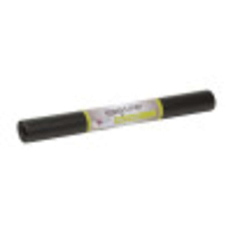Solid Grip Easy Liner® Brand Shelf Liner - Black, 20 in. x 4 ft. Image