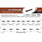 "Black Chrome Smooth-Head Socket Cap Screws Assortment (5/16""-18 & 3/8""-16 Thread)"