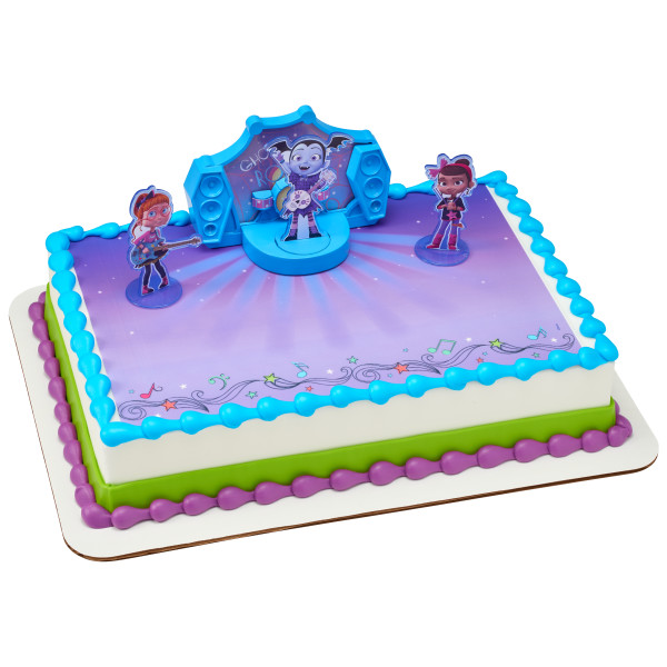 Vampirina Find Your Own Beat PhotoCake® Edible Image® DecoSet® Background