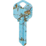Seaglass Camo Key Blank