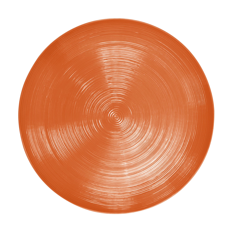 American Conventional Plate & Bowl Sets, Orange, 12-piece set slideshow image 4