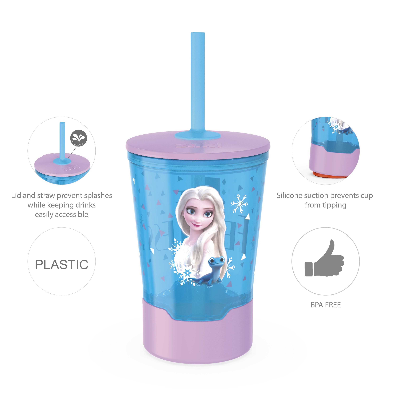 Disney Frozen 2 Movie 16 ounce Mighty Mug Tumbler with Straw, Princess Elsa slideshow image 8