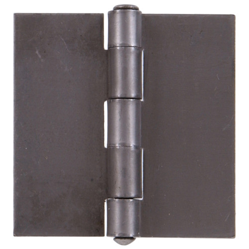 Hardware Essentials 3in Plain Steel Weldable Surface Hinges Square Corner