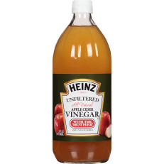 Heinz Apple Cider Vinegar Unfiltered, 32 fl oz Bottle image