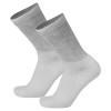 1919 Loose Fit Crew Length White Diabetic Socks