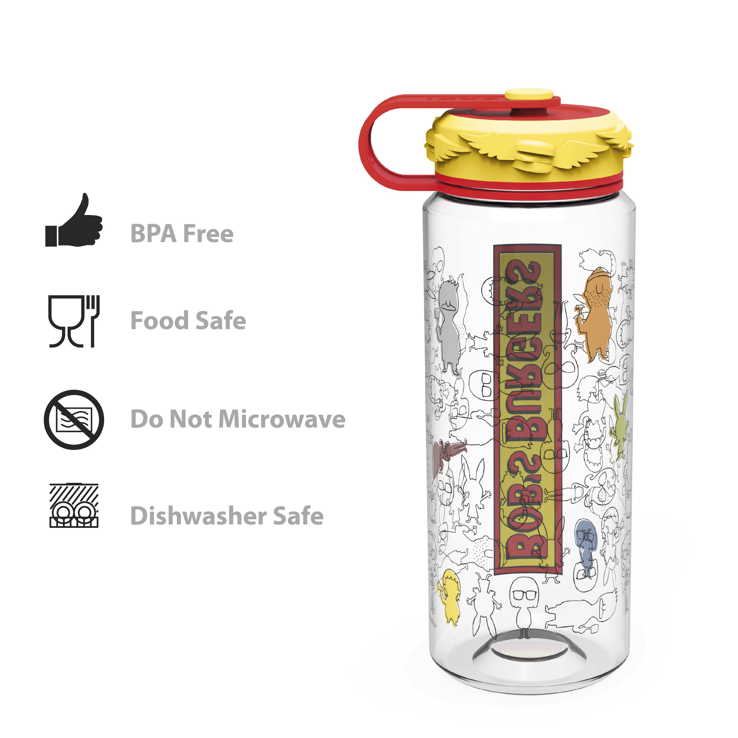 Bobs Burgers 36 ounce Water Bottles, The Belcher Family slideshow image 8