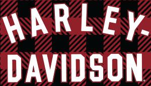 Harley-Davidson Adjustable Muscle Dog Collar