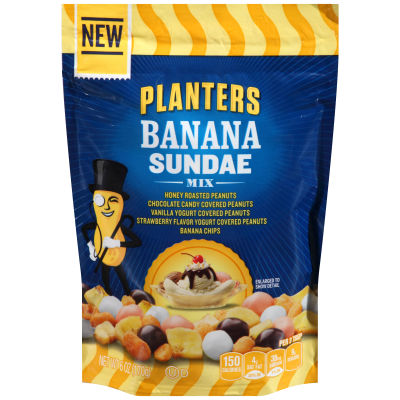 Planters Banana Sundae Mix 6 oz Bag