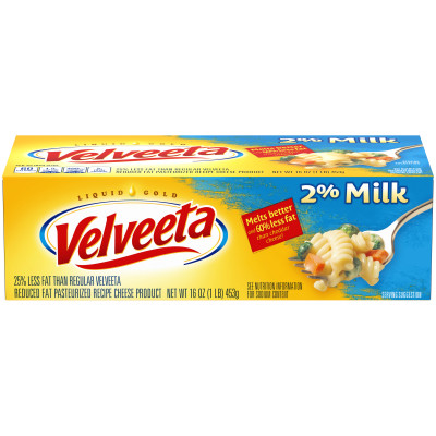 Velveeta 2% Milk Cheese 16 oz Box