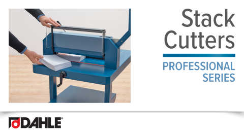 Dahle Professional Stack Cutter Series Video