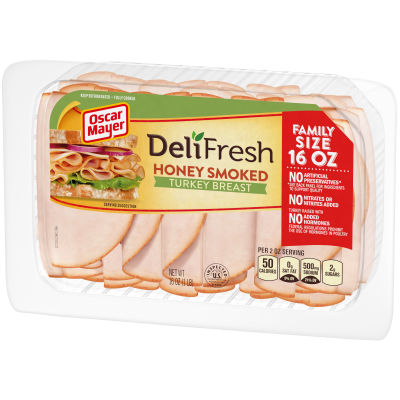 Oscar Mayer Deli Fresh Honey Smoked Turkey Breast, 16 oz Package
