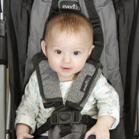 Reversible Strap Covers For Strollers