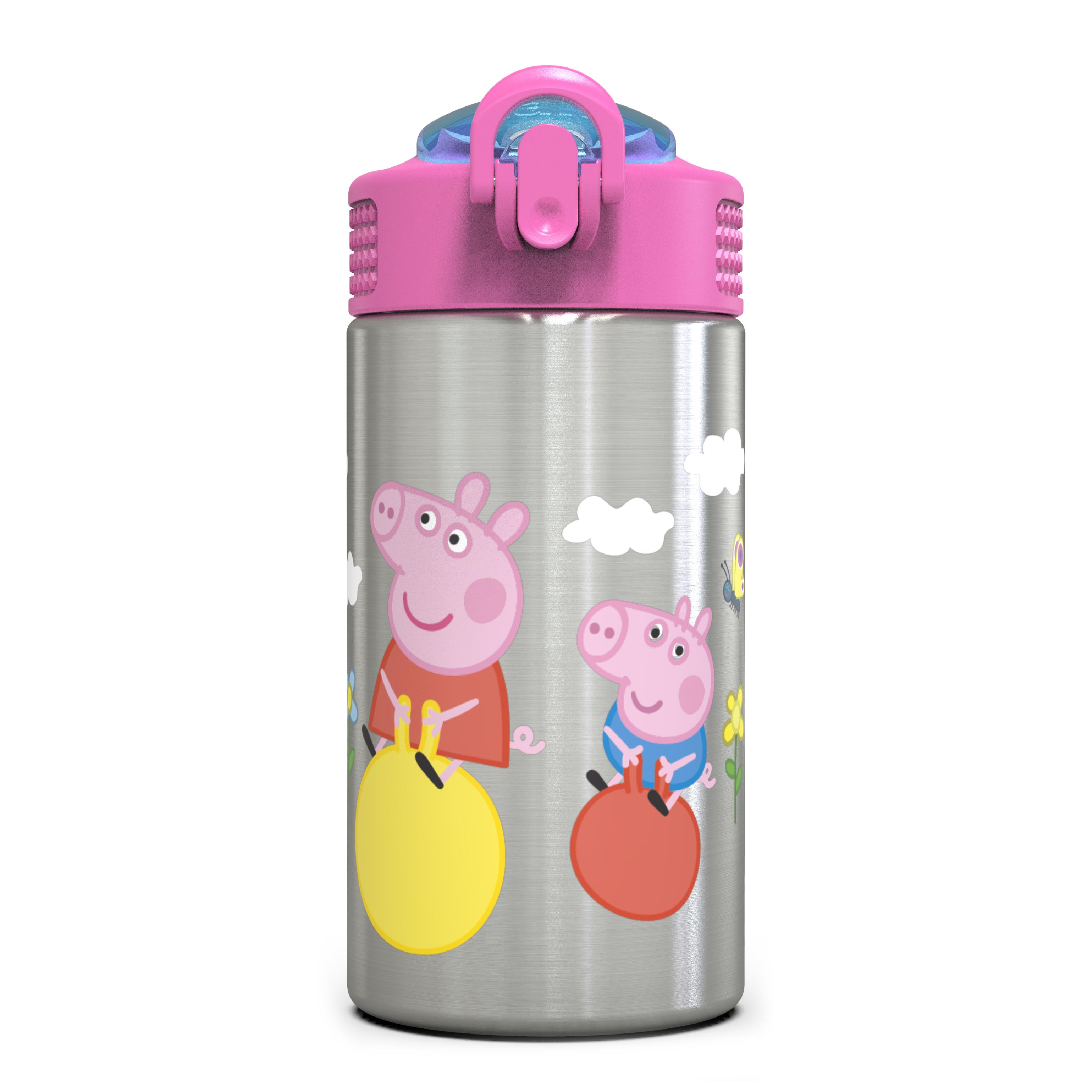 Nick Jr. 15.5 ounce Water Bottle, Peppa Pig slideshow image 1