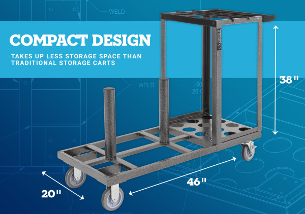 Statesman Cart Bundle - Black Steel 3