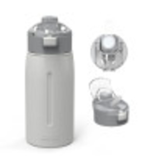 Genesis 18 ounce Vacuum Insulated Stainless Steel Tumbler, Gray