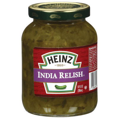 Heinz India Relish 10 fl oz Jar