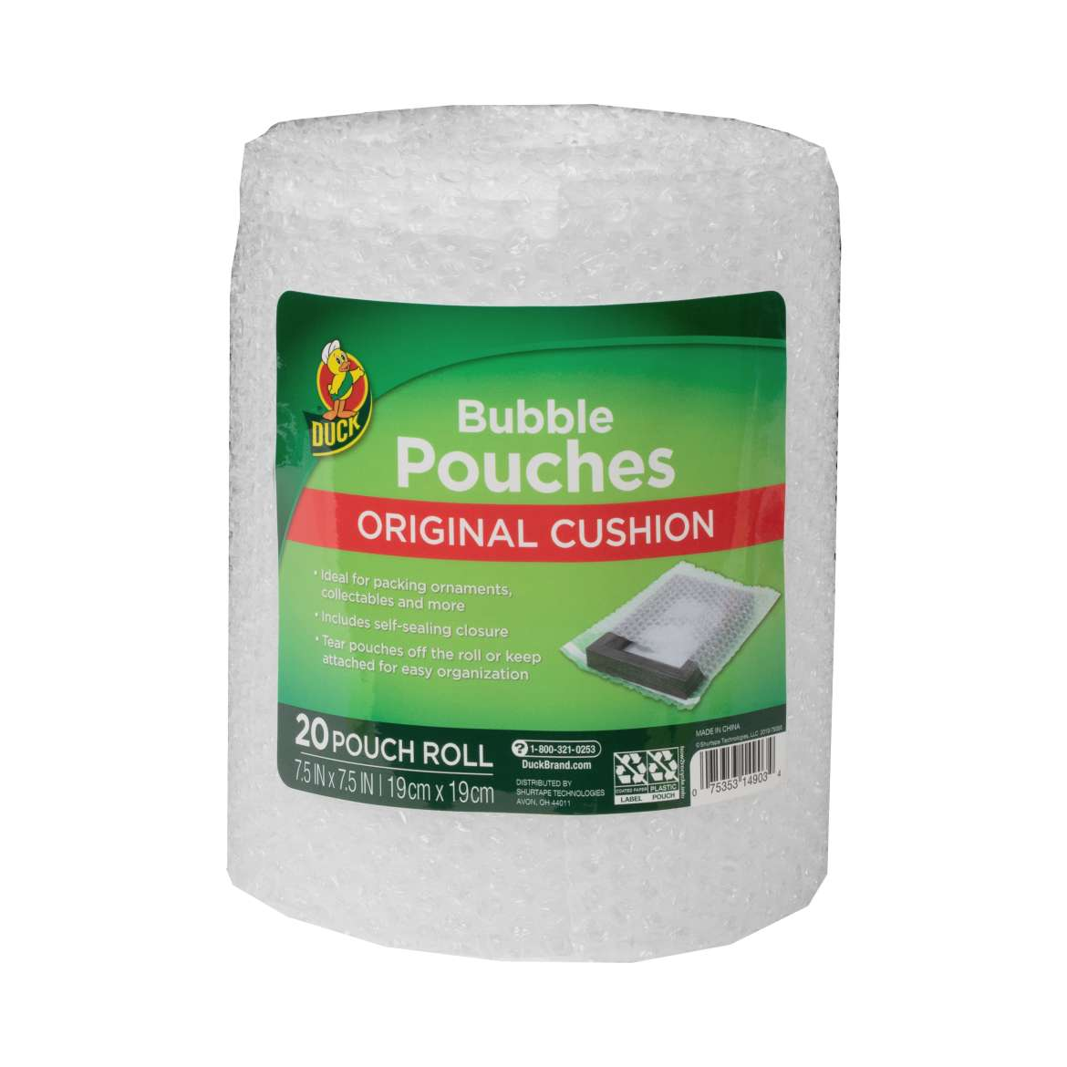 Duck® Brand Bubble Pouches on a Roll