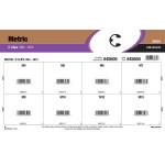 Metric E-Clips Assortment (M4 - M15 Diameter)