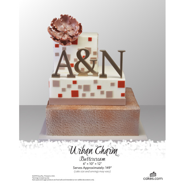 Urban Charm Buttercream Wedding The Magic of Cakes® Page
