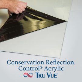 Tru Vue Conservation Reflection Control Acrylic 40