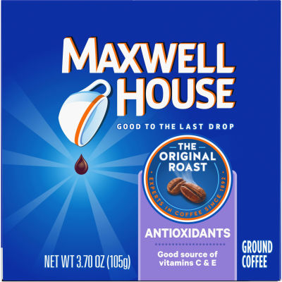 Maxwell House Antioxidants Original Medium Roast Coffee Keurig K Cups, 12 Count