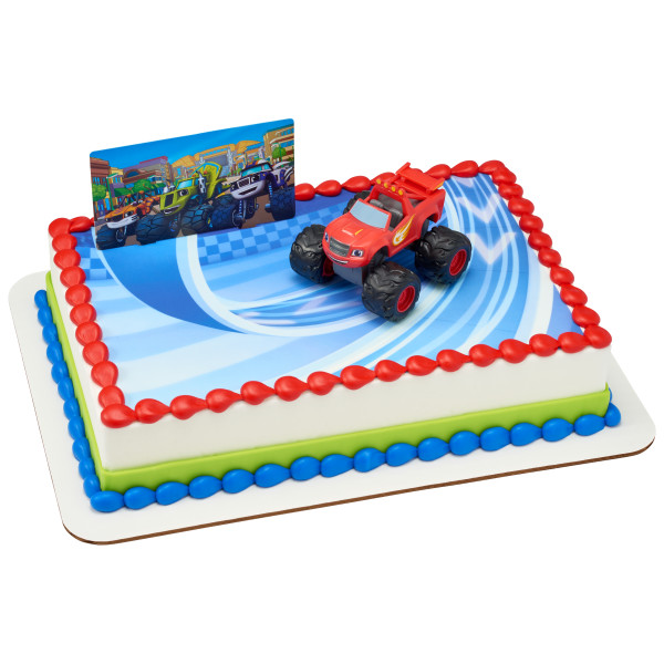 Blaze and the Monster Machines™ PhotoCake® Edible Image® DecoSet® Background