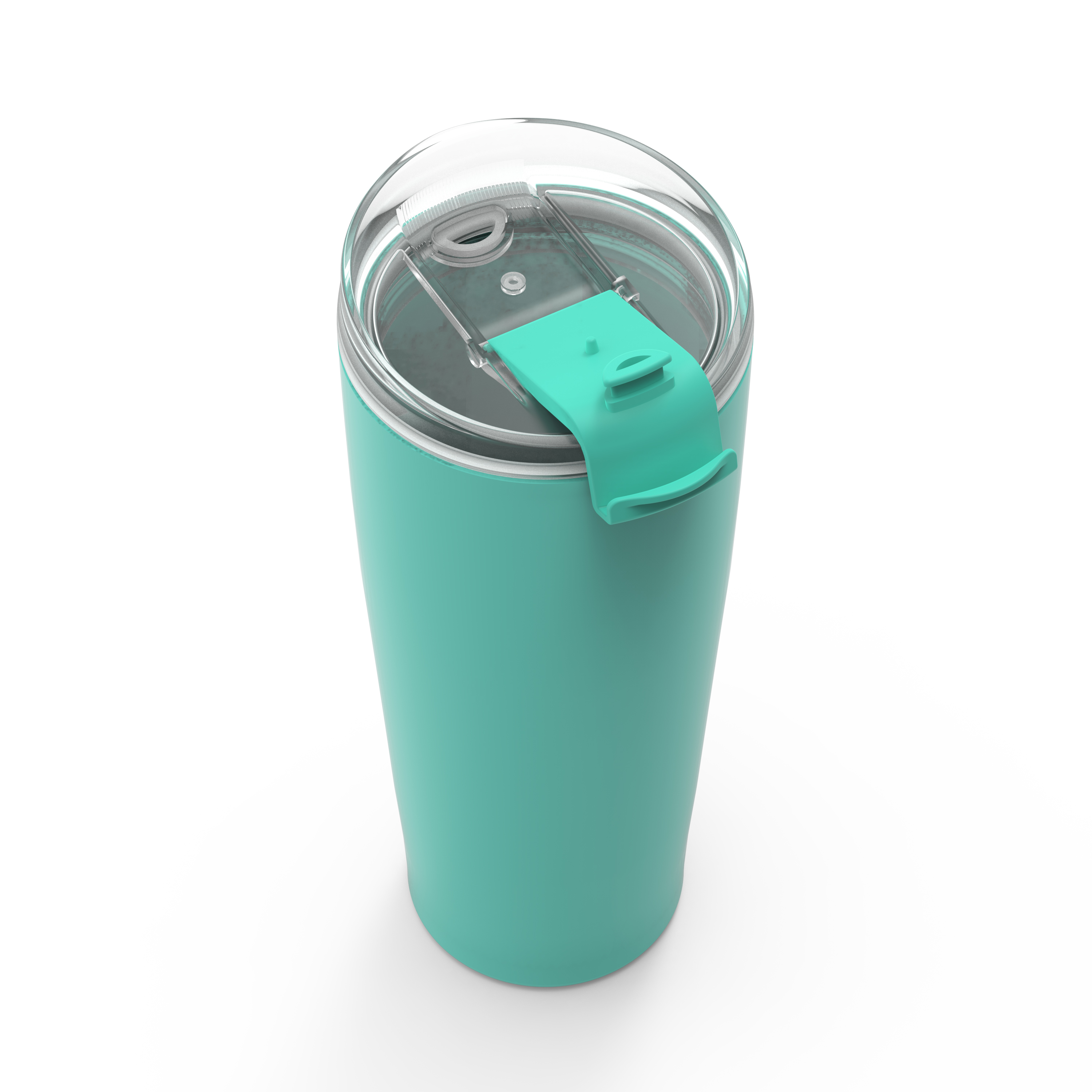 Aberdeen 30 ounce Vacuum Insulated Stainless Steel Tumbler, Green slideshow image 3