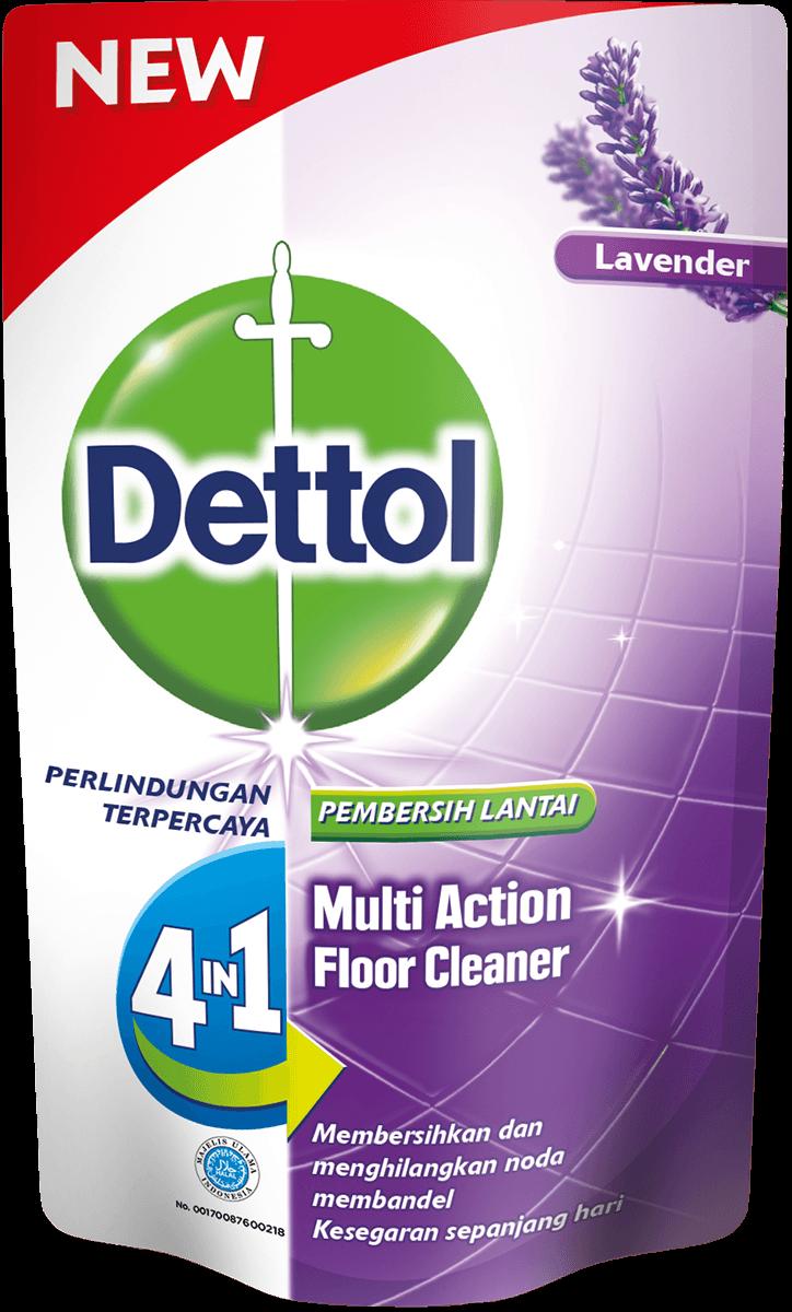 Pembersih Lantai Anti Bakteri Dettol Lavender
