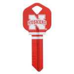 NCAA University of Nebraska Key Blank