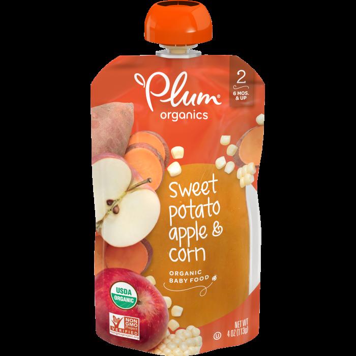 Sweet Potato, Apple & Corn Baby Food