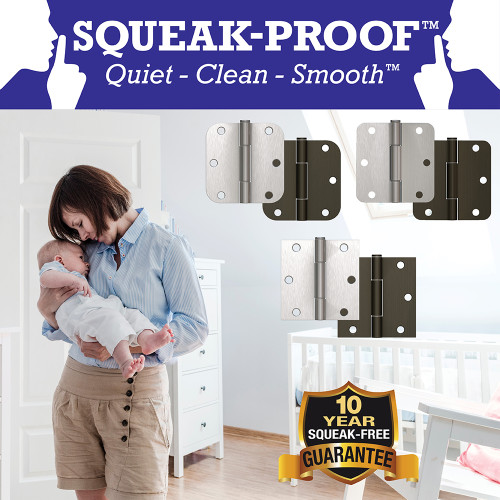 Hardware Essentials Squeak-Proof 5/8