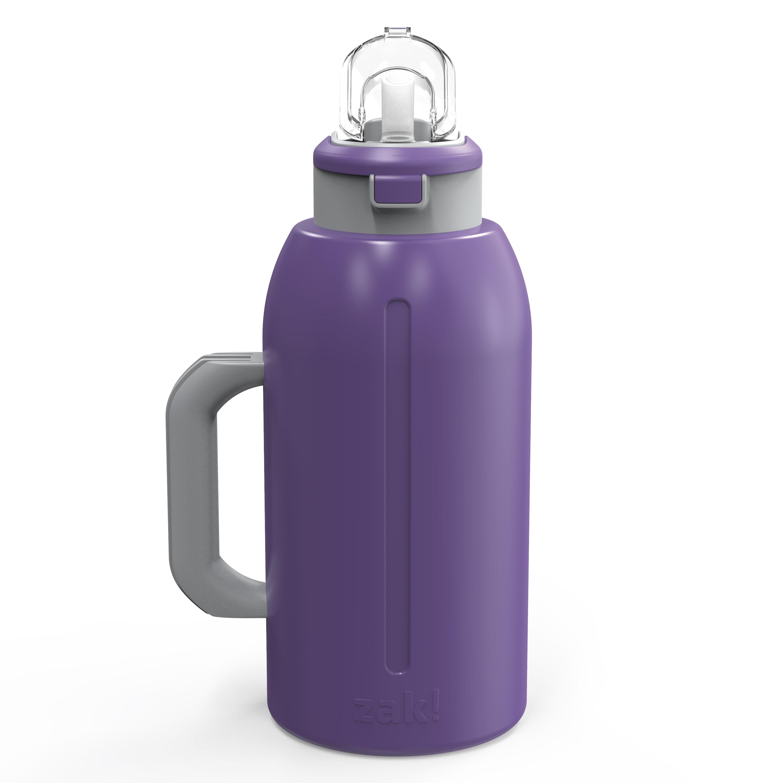 Genesis 64 ounce Stainless Steel Water Bottles, Viola slideshow image 2