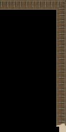 Simpatico Brown Rust 3/4