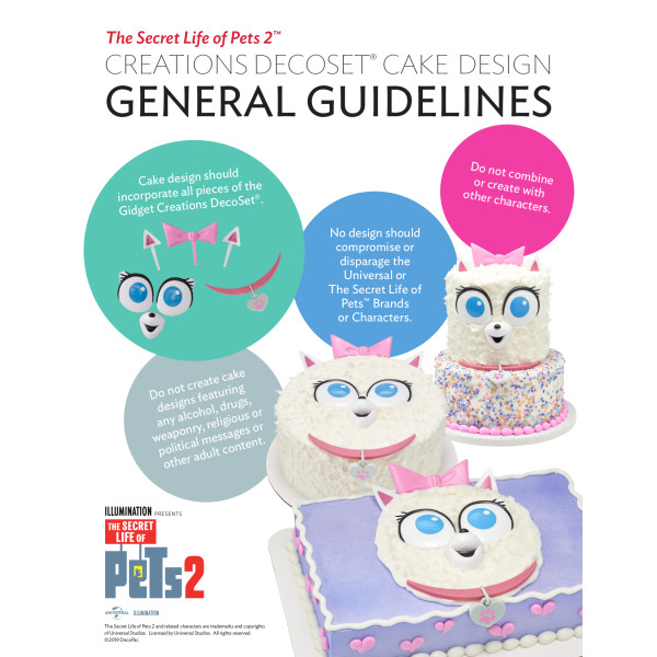 The Secret Life of Pets™ Gidget Creations DecoSet®