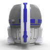 Star Wars 13 ounce Coffee Mug and Spoon, R2D2 slideshow image 3