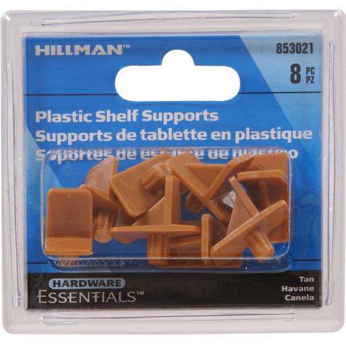 Hardware Essentials Tan Plastic Self Support
