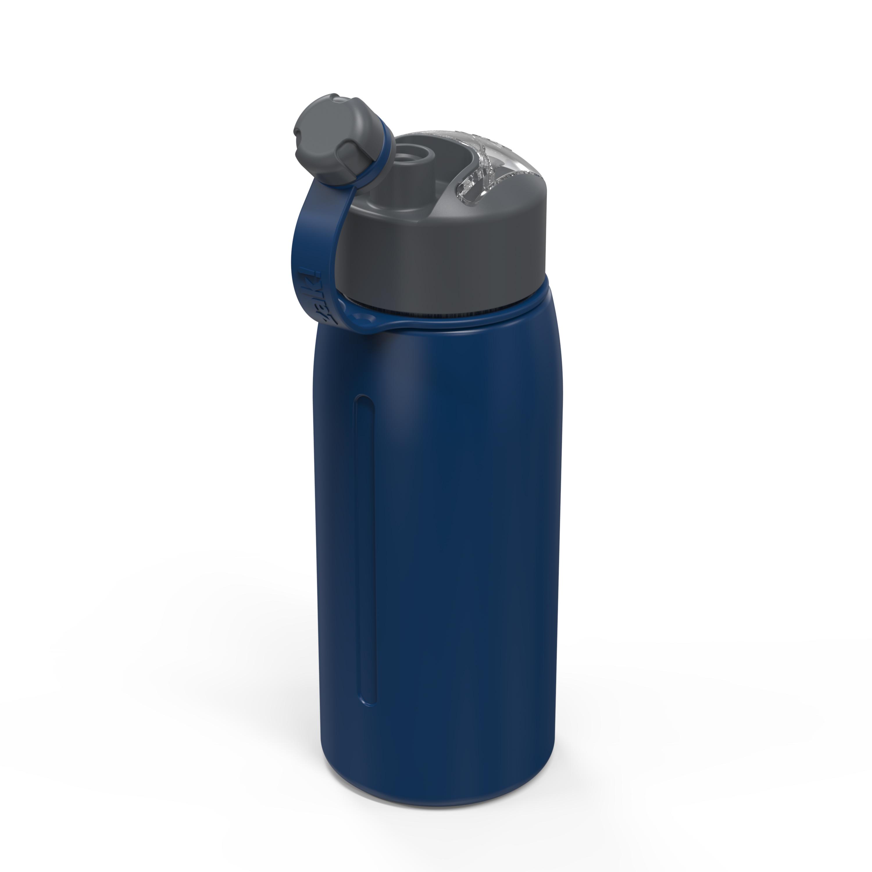 Genesis 24 ounce Vacuum Insulated Stainless Steel Tumbler, Indigo slideshow image 7