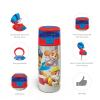 Paw patrol 19.5 ounce Stainless Steel Water Bottle with Straw, Chase, Skye & Rubble slideshow image 6