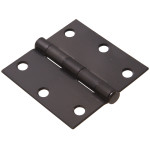 Hardware Essentials Square Corner Oil Rubbed Bronze Door Hinges