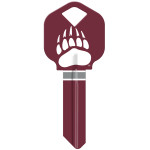 NCAA University of Montana Key Blank
