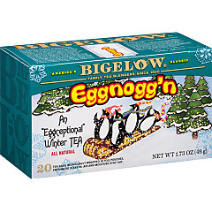 Eggnogg'n Tea - Case of 6 boxes - total of 120 teabags