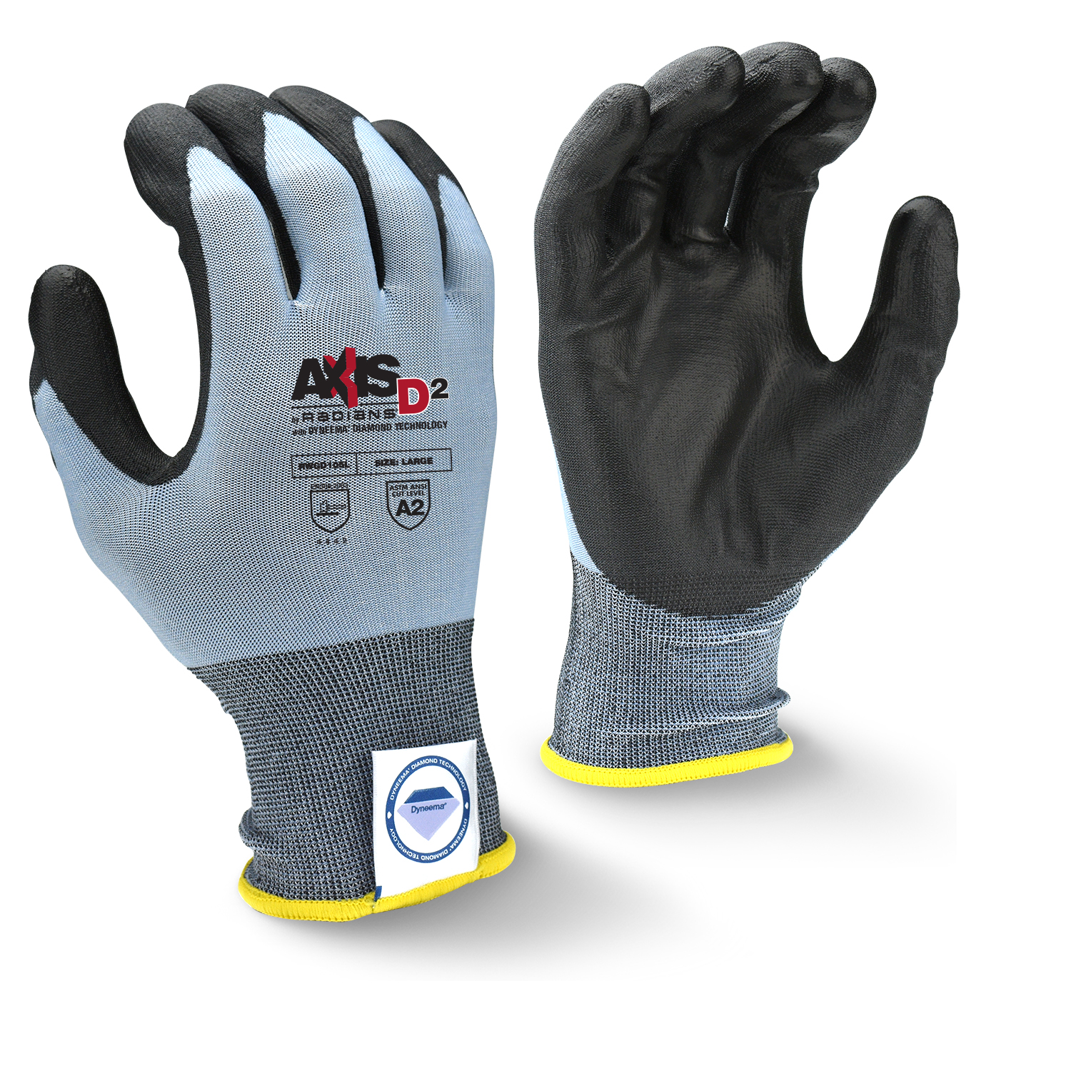 Radians RWGD105 AXIS D2™ Dyneema® Cut Protection Level A2 Glove