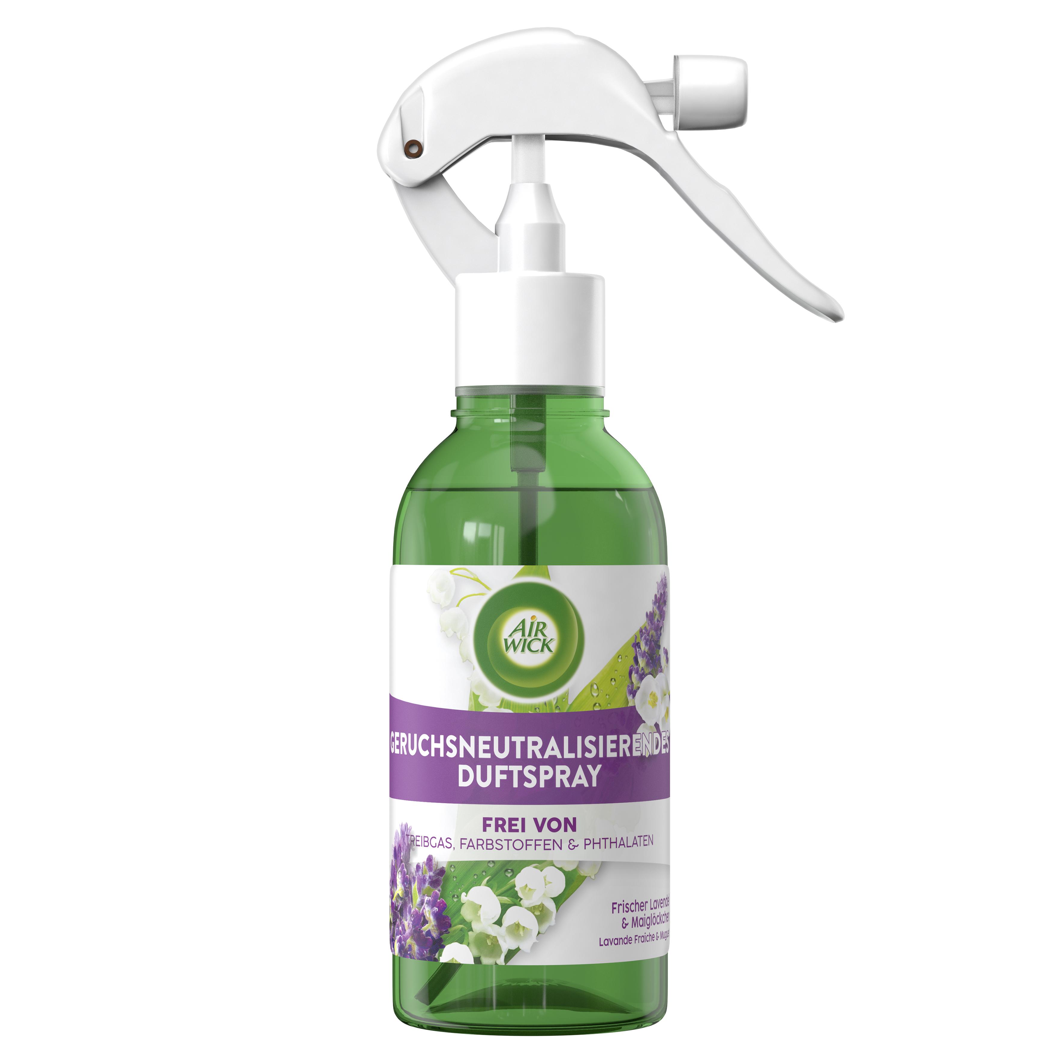 Air Wick Geruchsneutralisierendes Duftspray Frischer Lavendel & Maiglöckchen